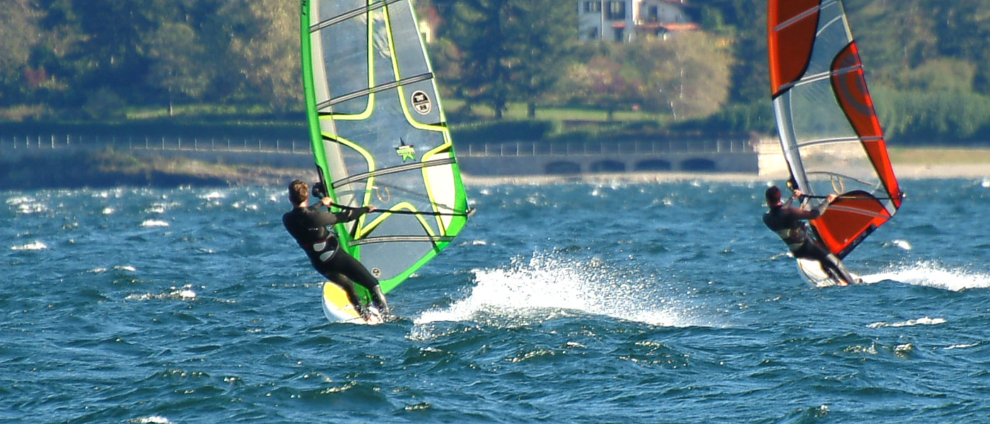 Windsurf Gravedona lake Como